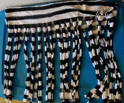 .  Make a fabric fringe scarf in under 15 minutes by not sewing Inspired by gothic and clothes & accessories. Version posted by ErsatzEpiphany. Difficulty: Easy. Cost: No cost.