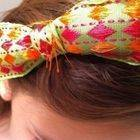 Alice Ribbon Bow Headband