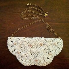 Fancy Doily Necklace