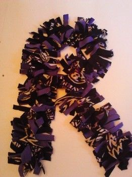 .  Make a fabric scarf in under 60 minutes Version posted by Caitlin . Difficulty: Simple. Cost: Cheap.