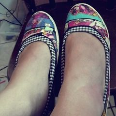 Harley Quinn Comic Shoes