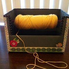 Yarn Spool Box