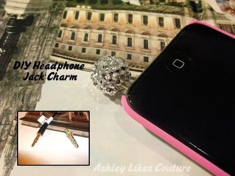 Upcycle headphones into a cute charm for your phone. .  Free tutorial with pictures on how to make a charm / keyring in under 60 minutes by decorating and embellishing with scissors, pliers, and clay. Inspired by kawaii. How To posted by Ashley H. Difficulty: Simple. Cost: Cheap. Steps: 1