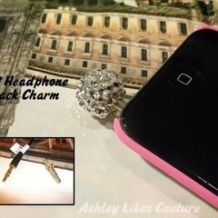 Headphone Jack Charm