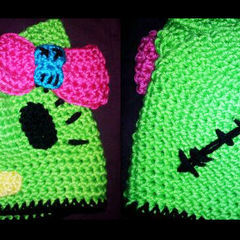 Zombie Hello Kitty Beanie