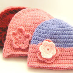 Double Crochet Beanie Tutorial For Beginners