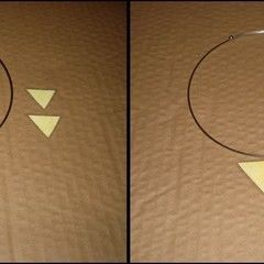 Triangle Necklace Using A Laminator