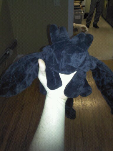Toothless Dragon Plushie 183 A Food Plushie 183 Construction