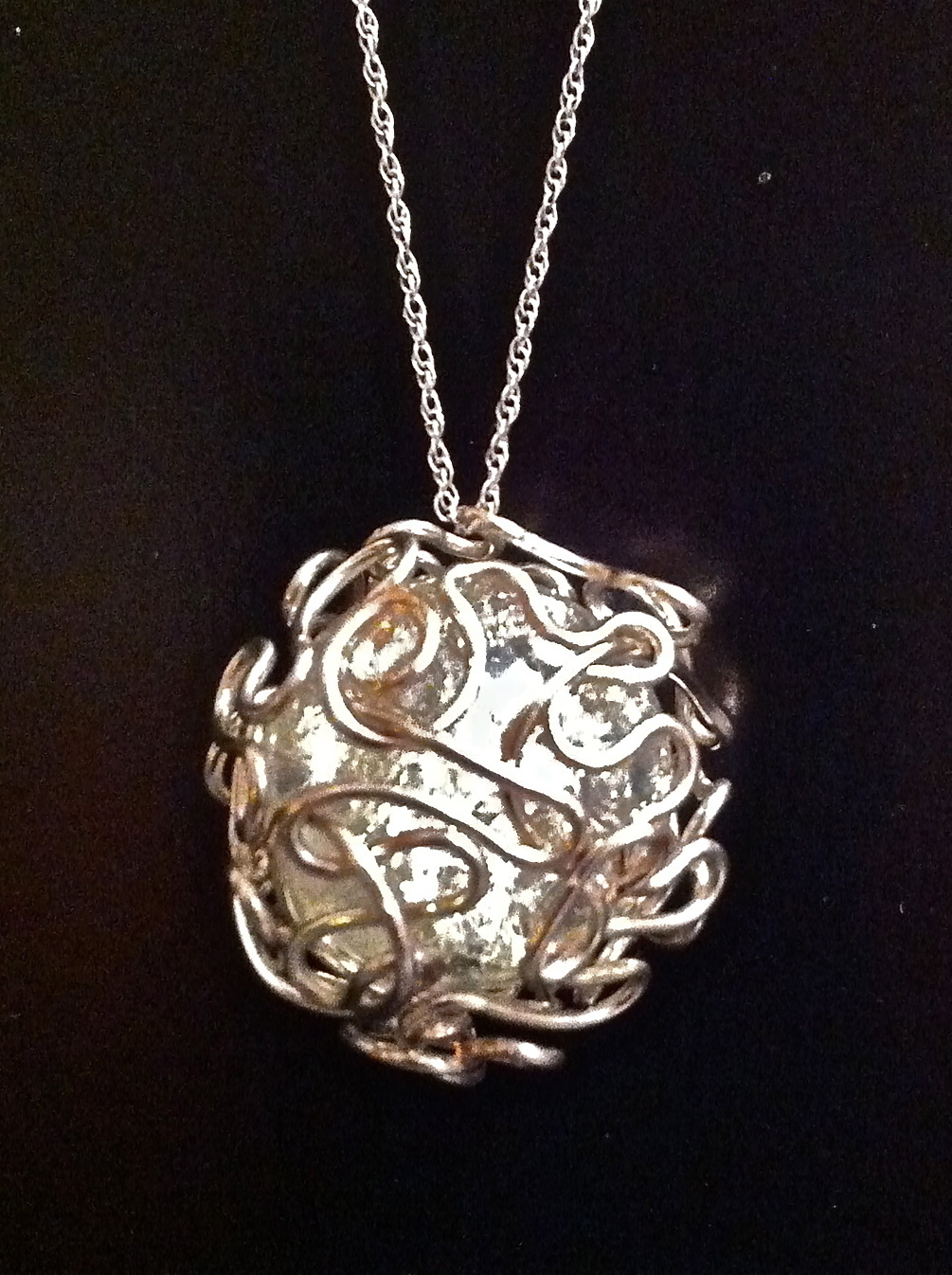 bird nest mess wire wrapped marble how to make a glass