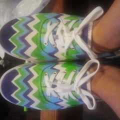 Chevron Shoes