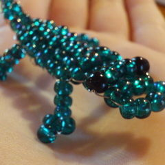 Beaded Crocodile