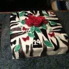 Zebra Rose Birthday Cake