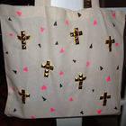 Diy Studded Tote Bag