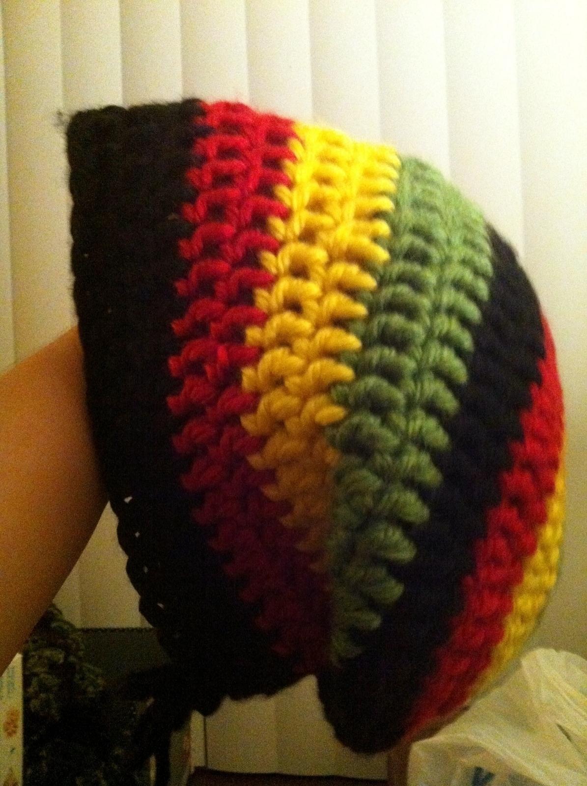 Bulky Slouchy Hat A Slouchy Beanie Crochet On Cut Out Keep