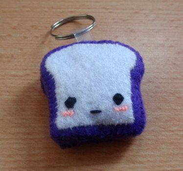 .  Sew a fabric food charm in under 30 minutes by sewing Version posted by ZombieUnicorn. Difficulty: 3/5. Cost: Cheap.