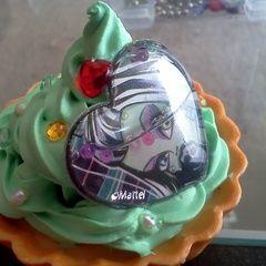 Monster High Frankie Deco Cupcake