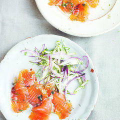 Whiskey And Brown Sugar Cured Gravlax