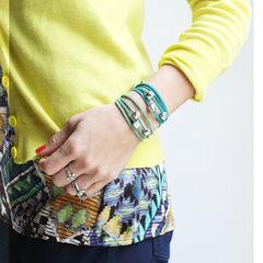 Ombre Wrap Abacus Bracelets