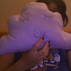 Cute Sleepy Cloud Pillow