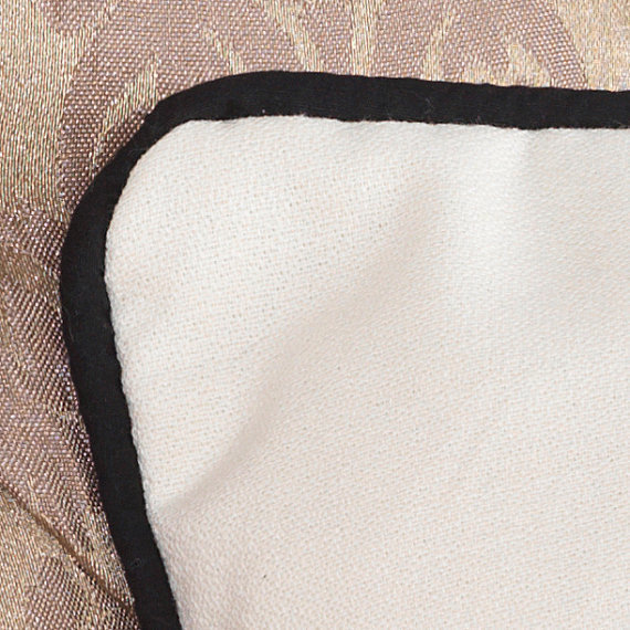 monogram letter k pillow cushion cover in black metal mix buttons  u00b7 an embellished cushion