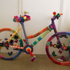 How To Yarnbomb / Yarnstorm A Bike