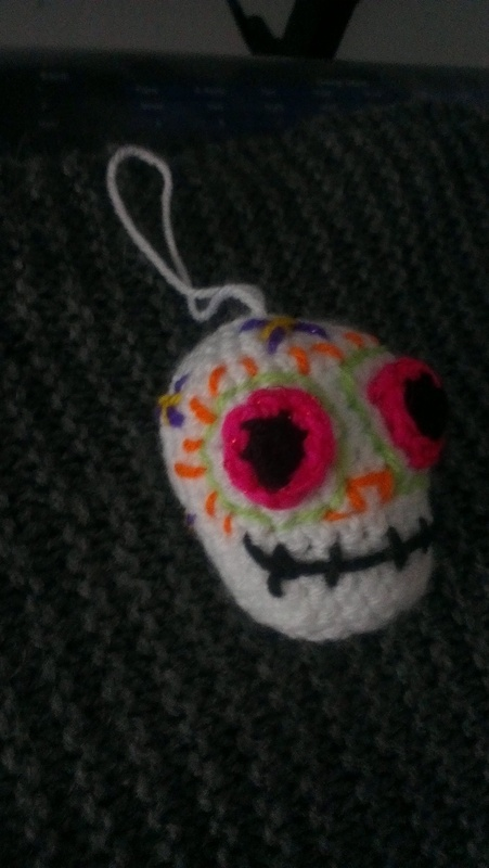 Crochet Dia De Los Muertos Sugar Skull 183 How To Make A