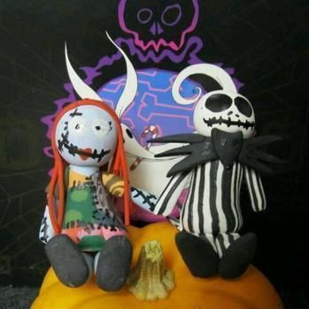 Nightmare before Christmas lovers  .  Make a food plushie in under 40 minutes using polymer clay. Inspired by domo kun, domo kun, and domo kun. Creation posted by . Difficulty: 5/5. Cost: 4/5.