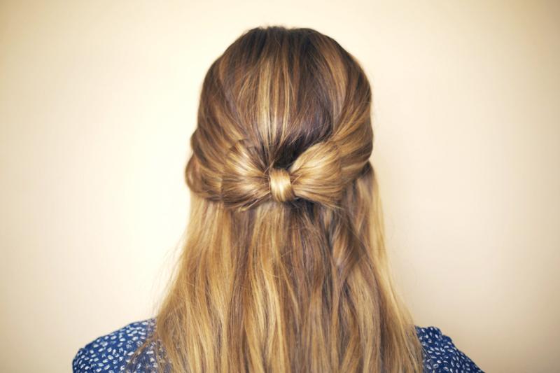 Hair Bow 183 How To Style A Bow Bun 183 Hair Styling On Cut