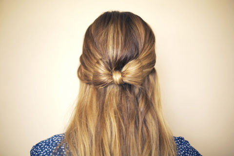 Hair Bow How To Style A Bow Bun Hair Styling On Cut Out Keep