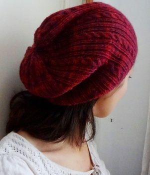 Design by Tammy :) .  Make a slouchy beanie by yarncrafting and knitting with yarn, double pointed knitting needles, and love. Inspired by clothes & accessories. Creation posted by EVEnl. Difficulty: 3/5. Cost: 3/5.