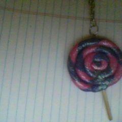 Lollipop Pendant Necklace