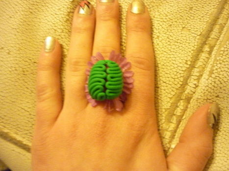 .  Make a clay ring in under 40 minutes by jewelrymaking and not sewing Inspired by monsters, flowers, and clothes & accessories. Version posted by Eva K. Difficulty: Easy. Cost: Cheap.