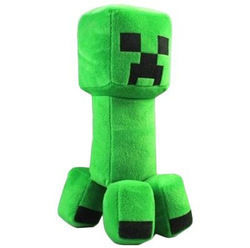 .  Sew a computer game plushie by needleworking, stencilling, and sewing Inspired by minecraft. Version posted by Eliana  P. Difficulty: Simple. Cost: Cheap.