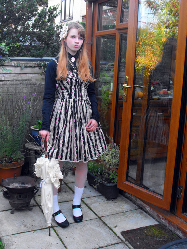 Diy Classic Lolita Look 183 How To Sew A Lolita Dress 183 Sewing On Cut Out Keep