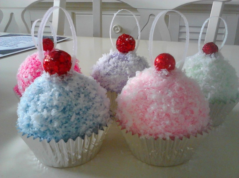 Cupcake Ornaments 183 How To Create Art A Model 183 How To