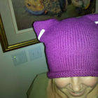 Square small cat hat