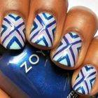 X Marks The Spot Nail Art And Tutorial!