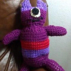 Crochet One Eyed Monster
