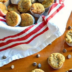 Mini Banana Almond Flour Muffins