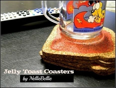 These coasters are easy to make and oh so fun to use! .  Free tutorial with pictures on how to make a cork coaster in under 30 minutes by decorating with cork board. How To posted by Janel H. Difficulty: Simple. Cost: Cheap. Steps: 4