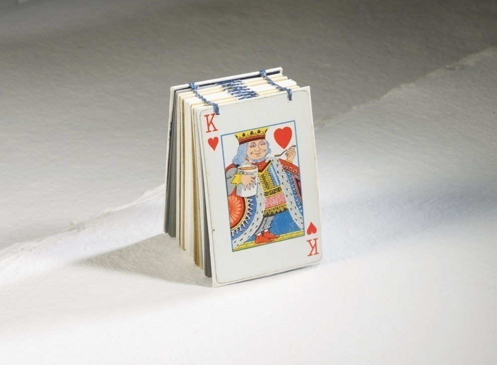 King Of Hearts Mini Book GMC Group Tutorial Playing Card Notebooks