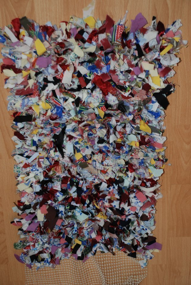Rag Rug 183 A Rag Rug 183 No Sew On Cut Out Keep 183 Creation