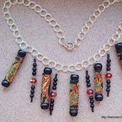 Ethnic Ribbon Necklaces