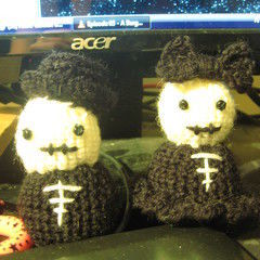 Skeleton Couple Amigurumi