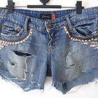 Update Your Jeans: Diy Studded & Frayed Shorts
