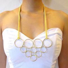 Diy Pyramid Ring Necklace