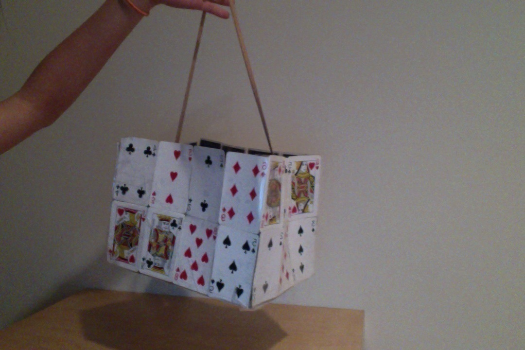 Playing Card Purse 183 How To Make A Recycled Bag