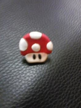 Fun for any geeky girl  .  Make a clay ring in under 20 minutes by creating, beading, applying makeup, jewelrymaking, molding, potting, and resinworking with polymer clay. Inspired by christmas, super mario, and costumes & cosplay. Creation posted by . Difficulty: 3/5. Cost: Cheap.