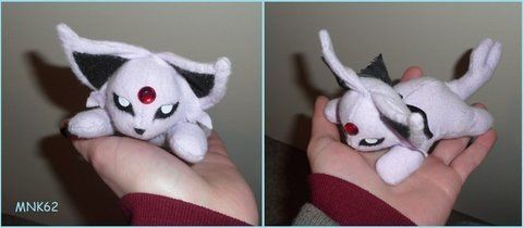 Plush of my fav pokemon .  Make a Pokemon plushie by needleworking with flannel. Inspired by pokemon and costumes & cosplay. Creation posted by Monkiki62. Difficulty: Simple. Cost: 3/5.