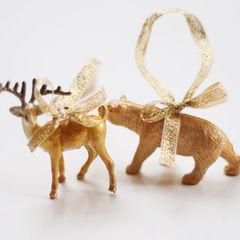Diy Plastic Animal Decorations